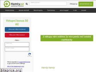 www.hamty.cz website price
