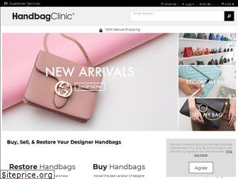 www.handbagclinic.co.uk website price