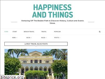 happinessandthings.com