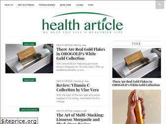 healtharticle.info
