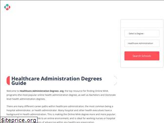 healthcareadministrationdegrees.org