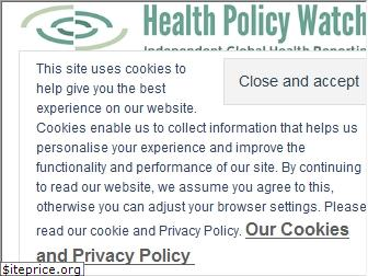 www.healthpolicy-watch.org website price