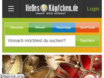 www.helles-koepfchen.de website price