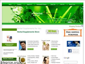herbal-supplements-for-you.com