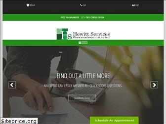 hewittservices.net