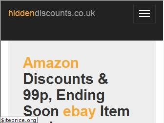 hiddendiscounts.co.uk