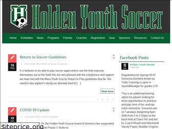 holdenyouthsoccer.org