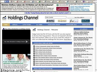 holdingschannel.com