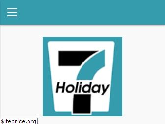 www.holiday7.in website price