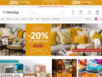 www.homla.com.pl website price