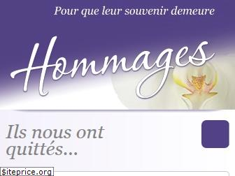 hommages.ch