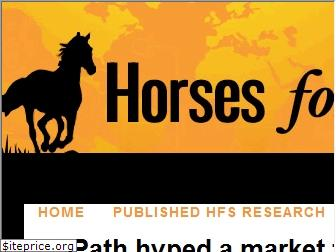 horsesforsources.com