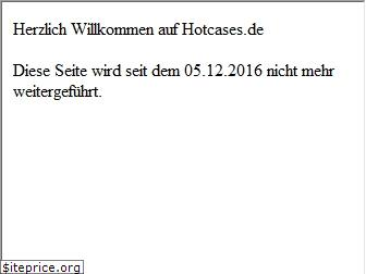 www.hotcases.de website price