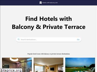 hotels-with-balcony.com
