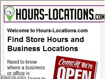 hours-locations.com