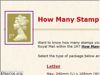 howmanystamps.co.uk