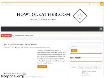 howtoleather.com