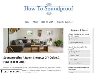howtosoundproof.org