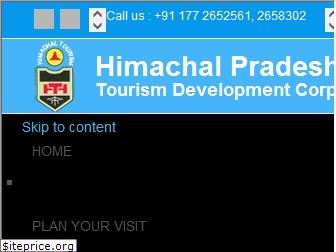 www.hptdc.in website price