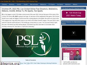 icccricketworldcup2019.net