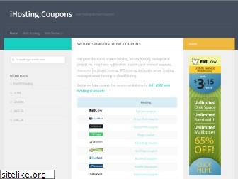 ihosting.coupons