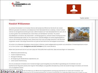 www.immobilien.bremen.de website price