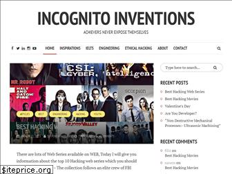 incognitoinventions.com