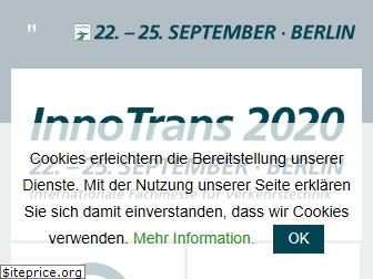www.innotrans.de website price