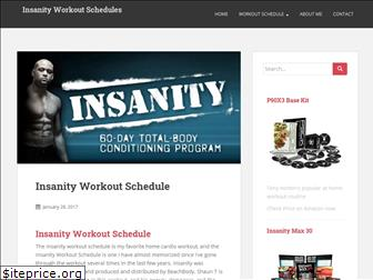insanityworkoutschedules.com