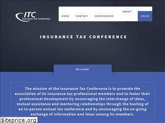 insurancetaxconference.org