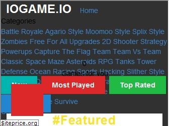www.iogame.io website price