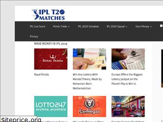 iplt20matches.co.in