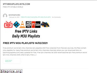 iptvm3uplaylists.com