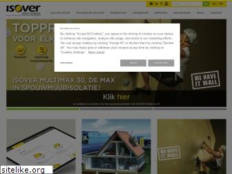 isover.be