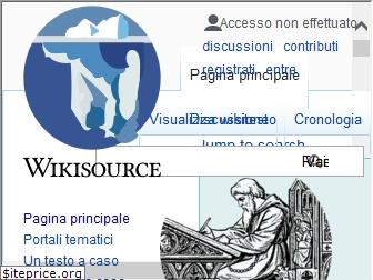 it.wikisource.org