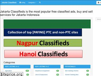 www.jakartaclassifieds.com website price