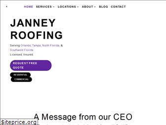 janneyroofing.com