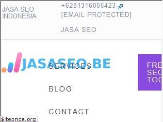 www.jasaseo.be website price