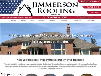 jimmersonroofing.com