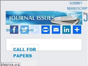www.journalissues.org website price