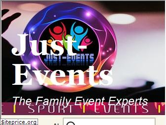 just-events.co.uk