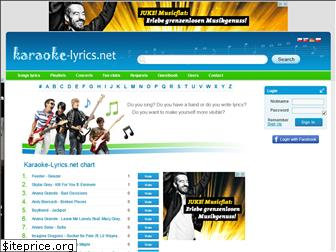 karaoke-lyrics.net