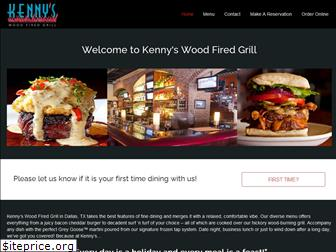 kennyswoodfiredgrill.com