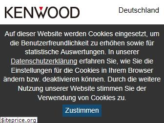 www.kenwood.de website price
