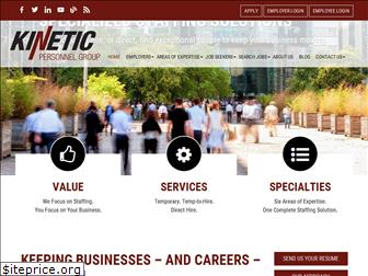 kineticpersonnelgroup.com