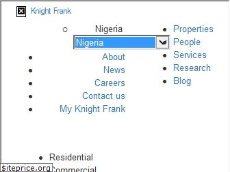 www.knightfrank.com.ng website price