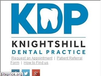 knightshilldental.co.uk