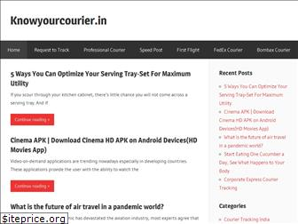 knowyourcourier.in