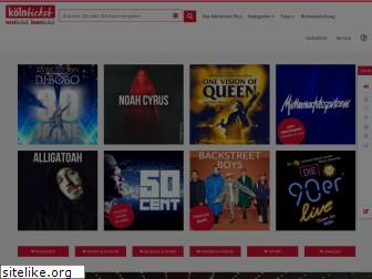 www.koelnticket.de website price