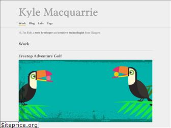 kylemacquarrie.co.uk